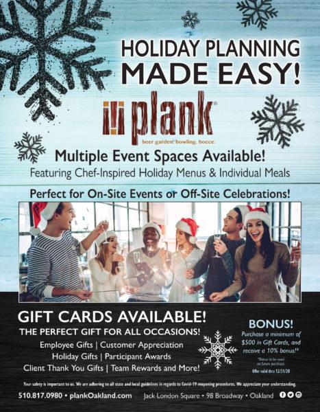 Holiday Event Planning