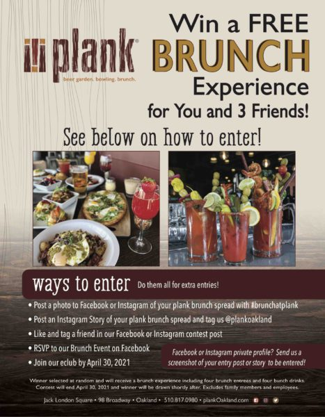 Win A Free Brunch